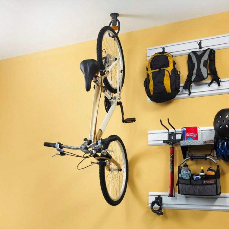 guarda bicicletas techo