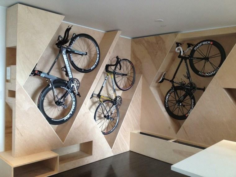 guarda bicicletas verticales