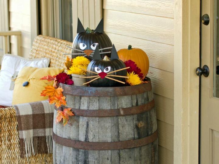 halloween decoracion diy especiales paja