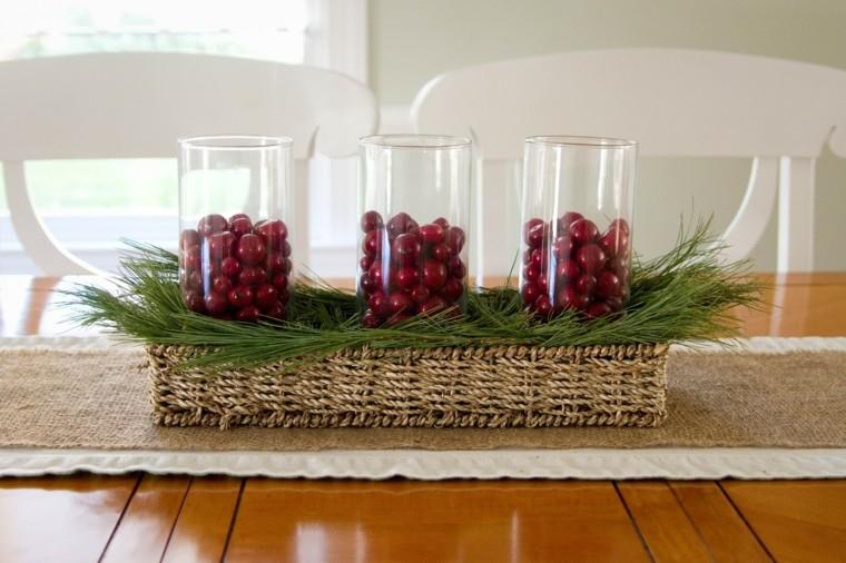 ideas centro mesa para navidad