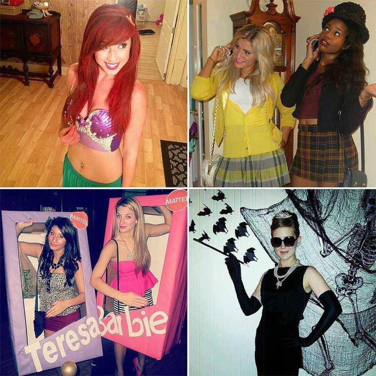 disfraces caseros chicas mujeres
