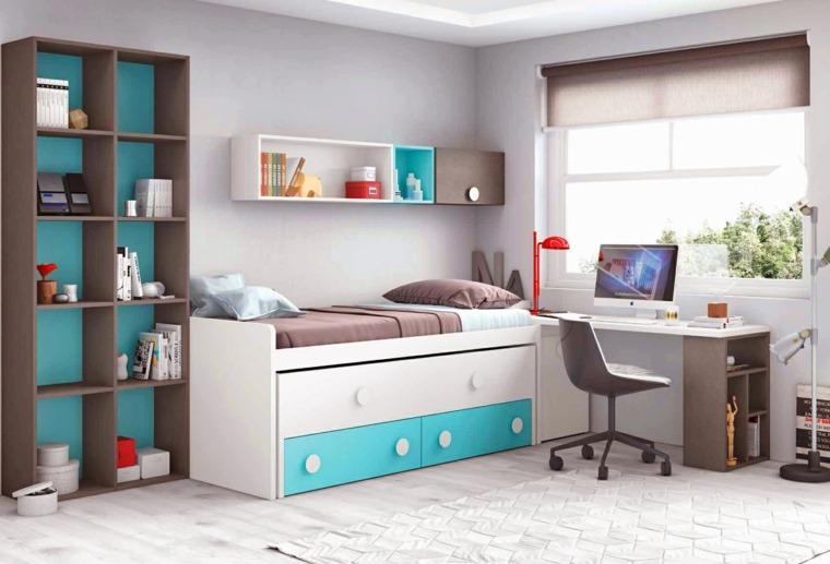 ideas para decorar habitacion infantil combinacion colores ideas