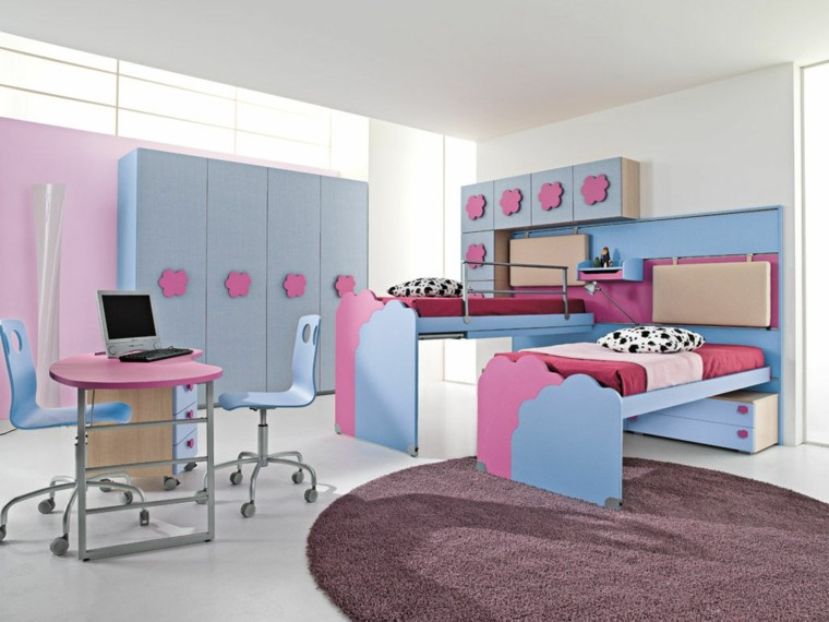ideas para decorar habitacion infantil rosa azul ideas