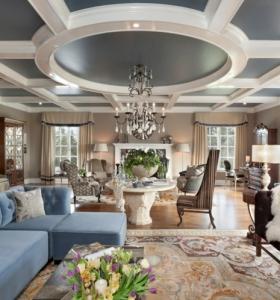 ideas para decorar espacios con techos muy atractivos