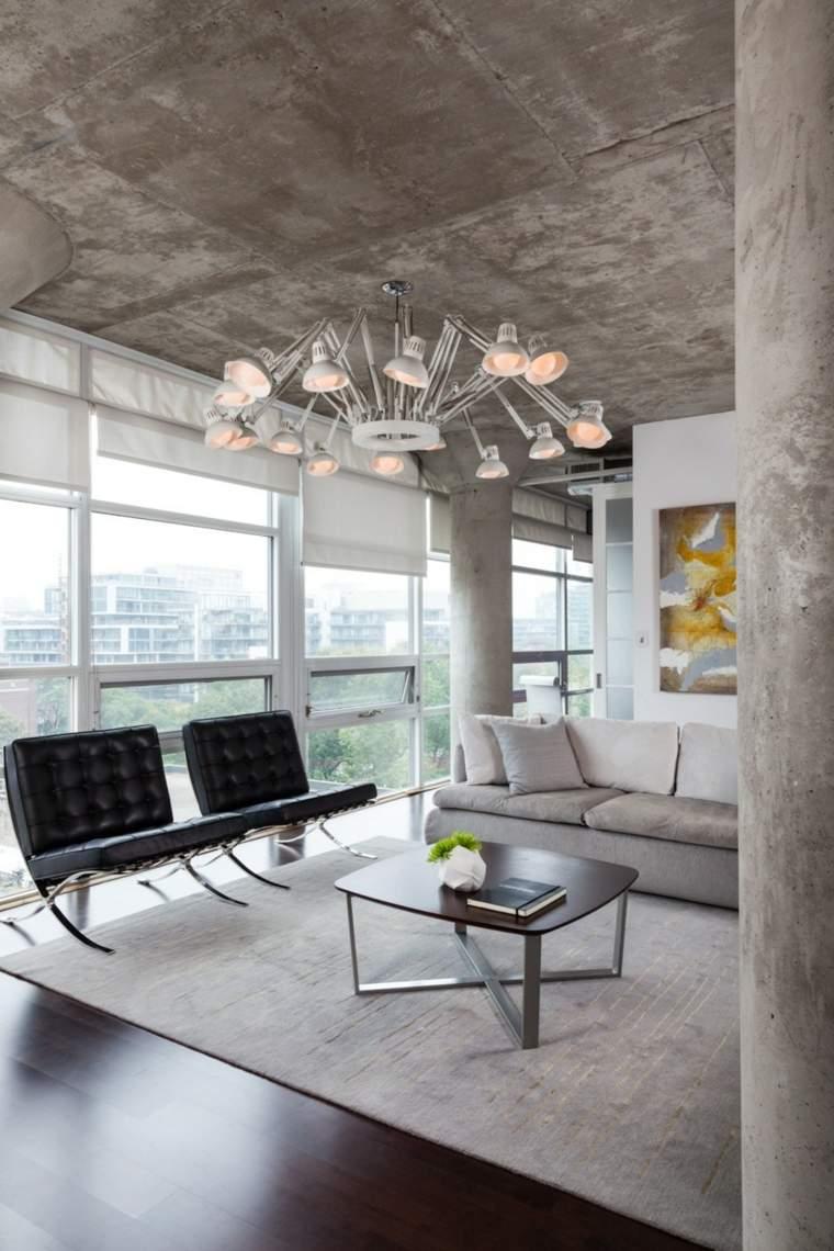 Ideas para decorar 34 espacios con techos muy atractivos for Techos salones modernos