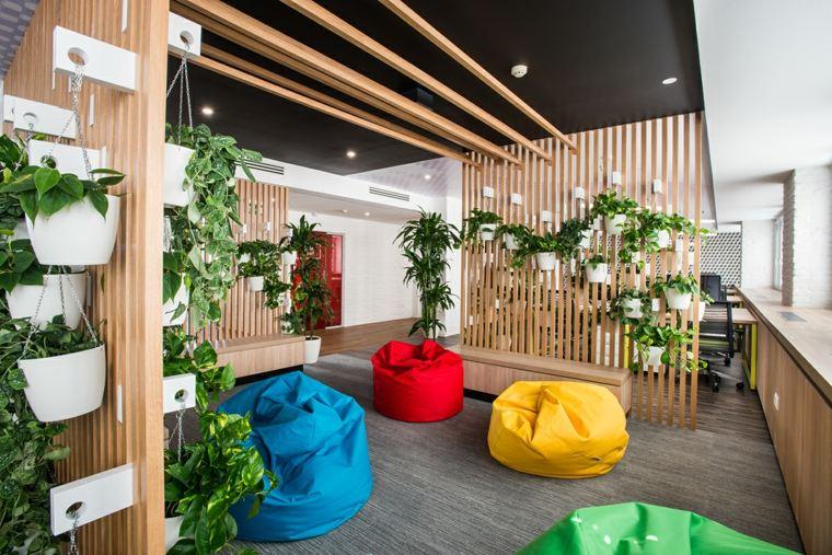 Ideas para decorar 34 espacios con techos muy atractivos - Laminas para paredes ...