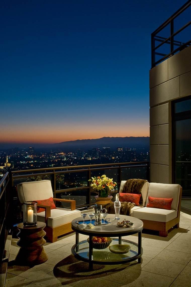 ideas para decorar terraza opciones espacios pequenos estilo moderno