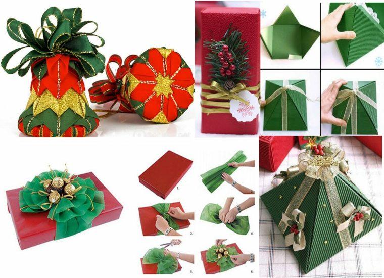 Regalos navide os ideas para envolverlos - Ideas para envolver regalos navidenos ...