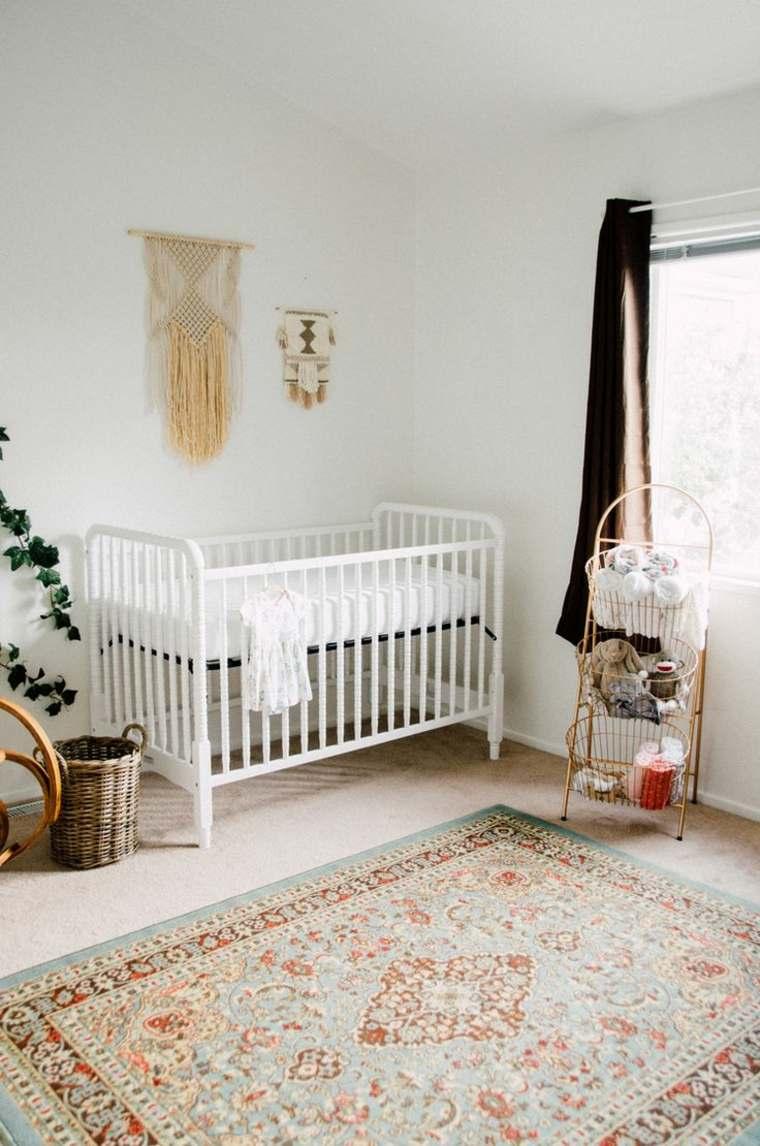ideas para habitacion de bebe diseno vintage moderno