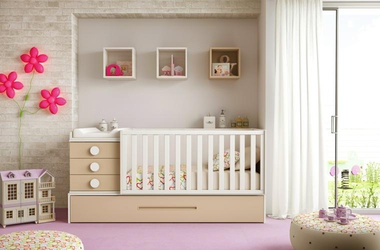 ideas para habitacion de bebe estilo simple ideas