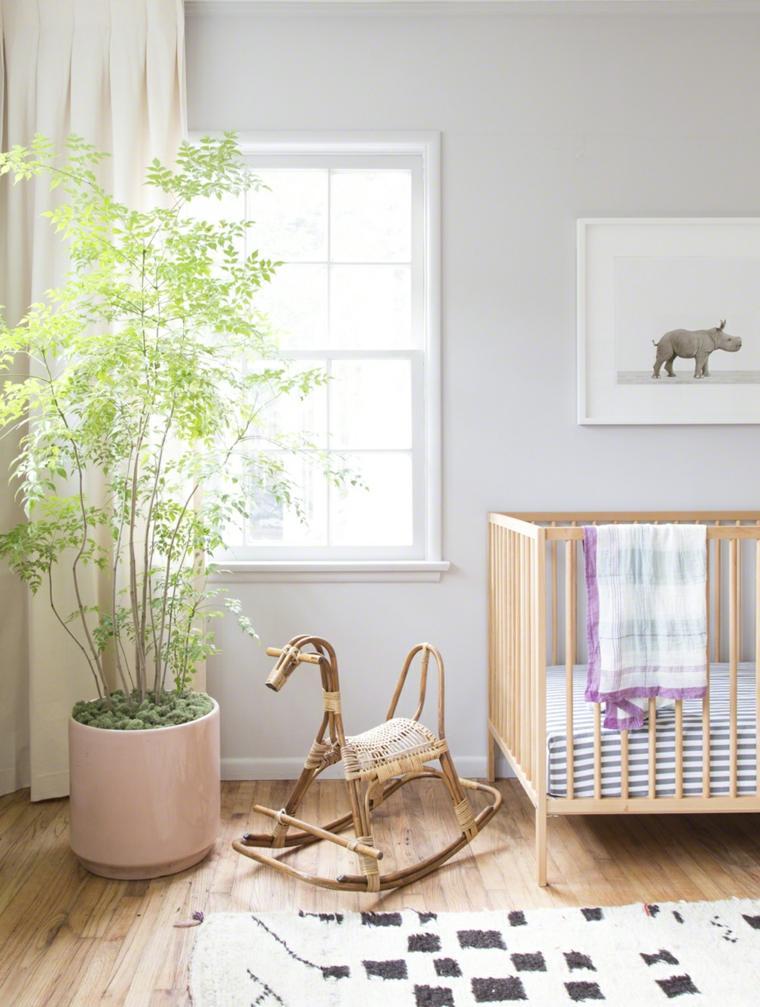 ideas para habitacion de bebe juguietes plantas ideas