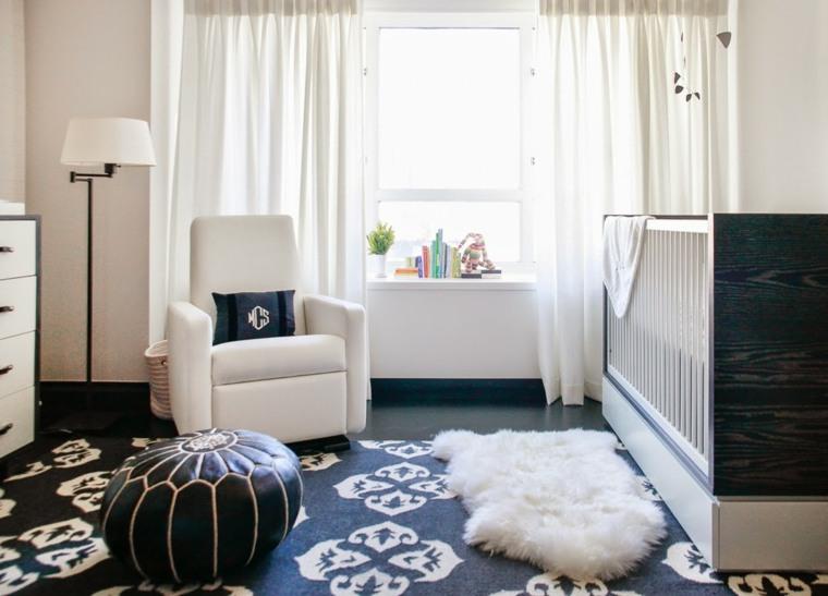 habitacion de bebe sillon blanco ideas