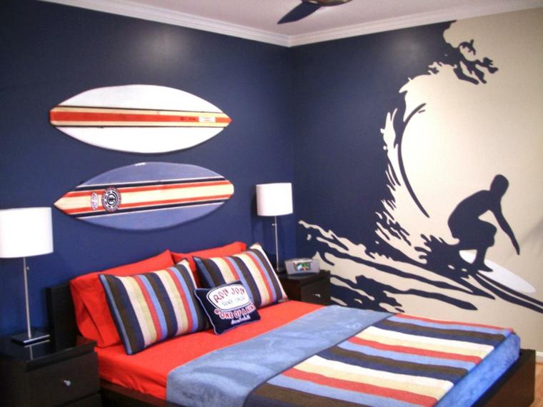 imágenes de tablas de surf pared