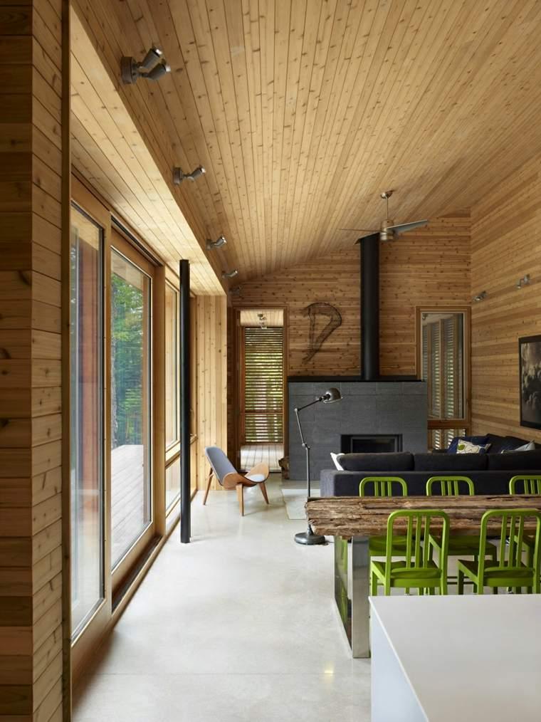 impresionante diseño madera natural
