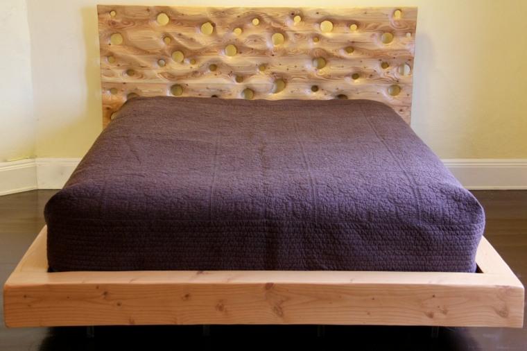 impresionante diseño cabecero cama