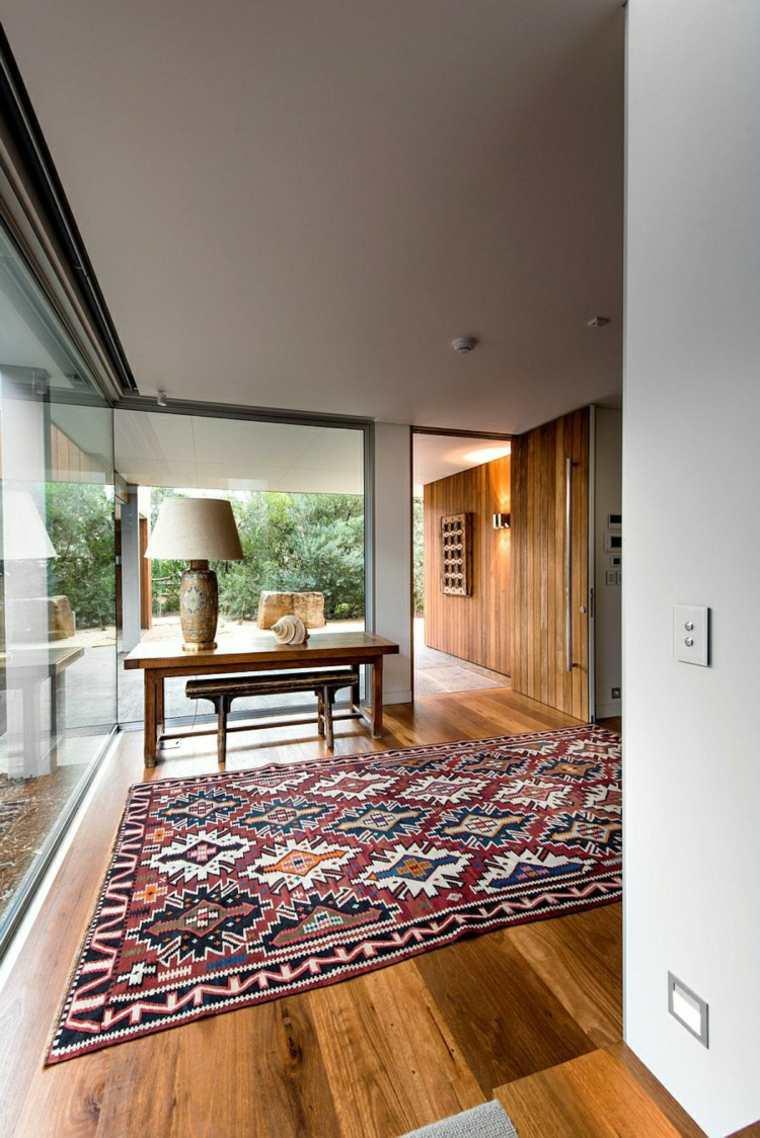 interior moderno revestimientos suelo madera