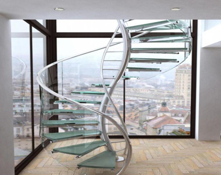 Escaleras modernas descubre los dise os m s inusuales - Imagenes de escaleras de caracol ...