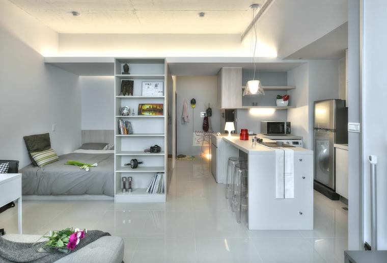 interior estilo loft diseño moderno