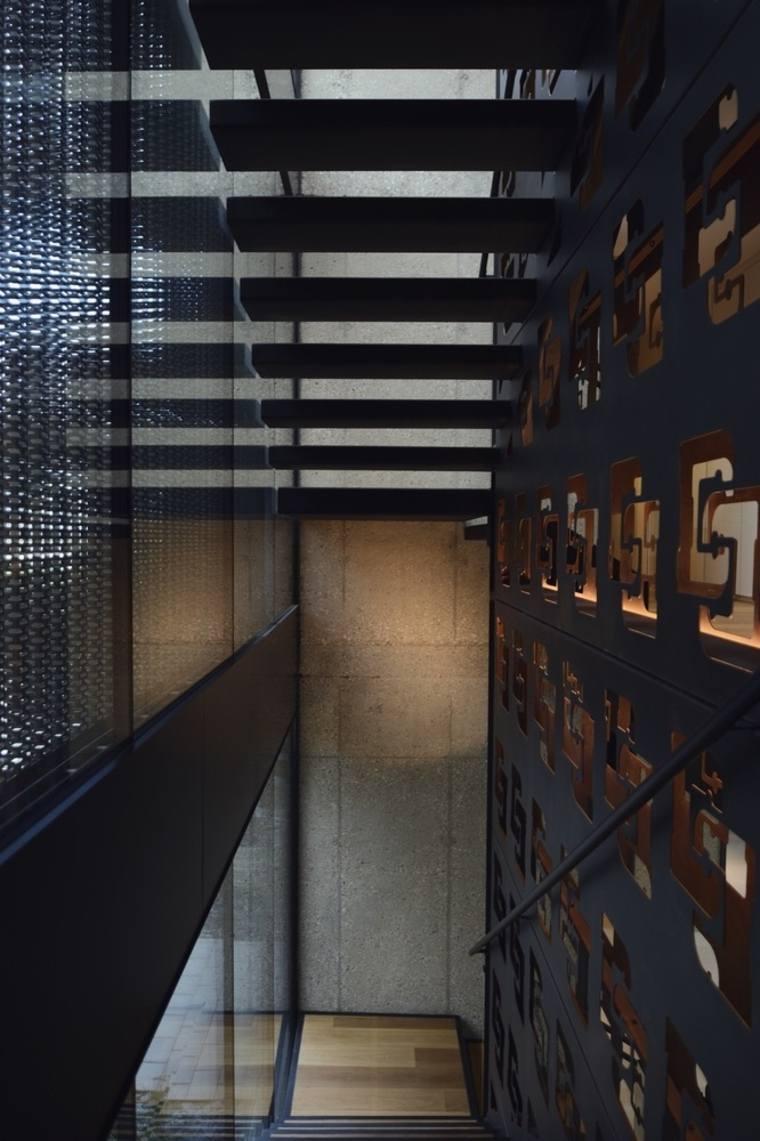 interiores separadores ambientes muebles materiales