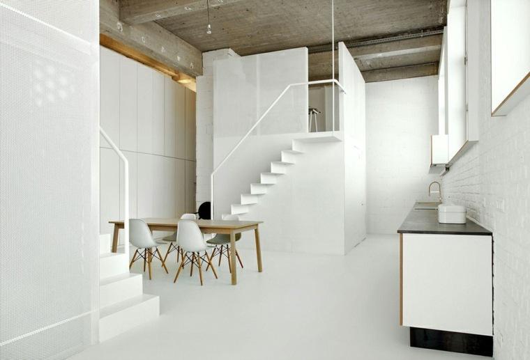 interior moderno color blanco
