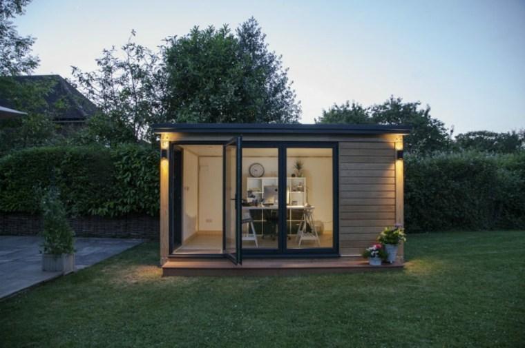 Oficinas modernas en el jardín 24 espacios creativos -