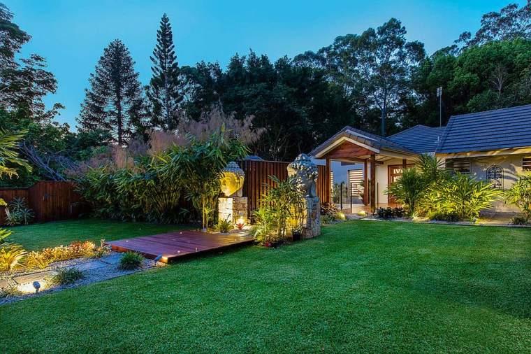 jardin diseno camino estilo zen