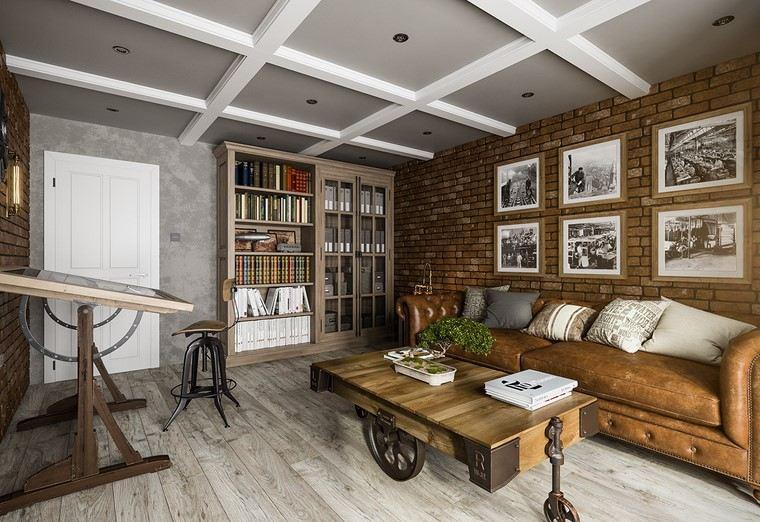 Ladrillo visto 45 ideas para su uso en el dise o interior for Diseno de interiores vintage