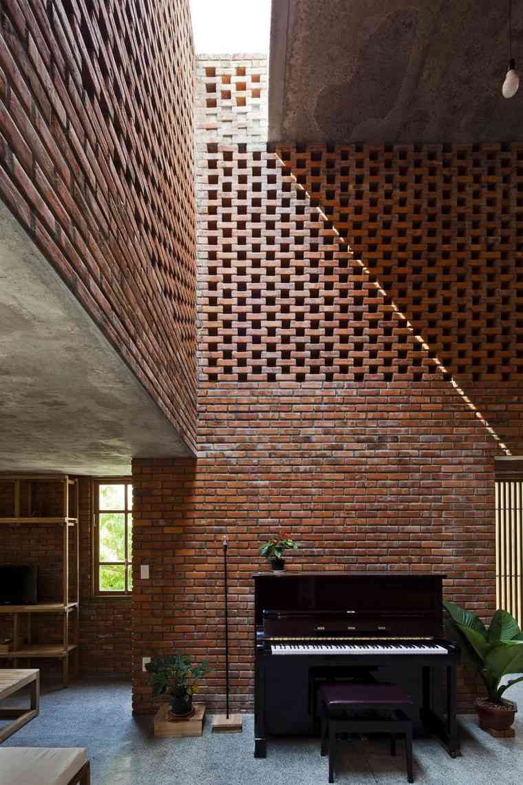 Ladrillo visto 45 ideas para su uso en el diseño interior -