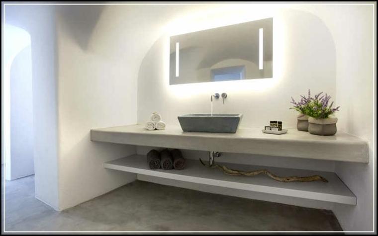 Tocadores y lavabos flotantes para el cuarto de ba o - Lavabos de vidrio ...