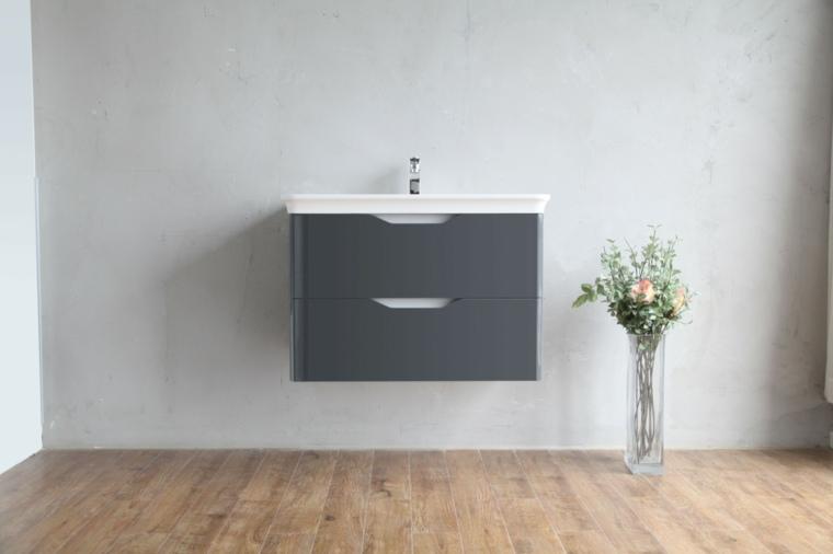 lavabo flotante estilo minimalista