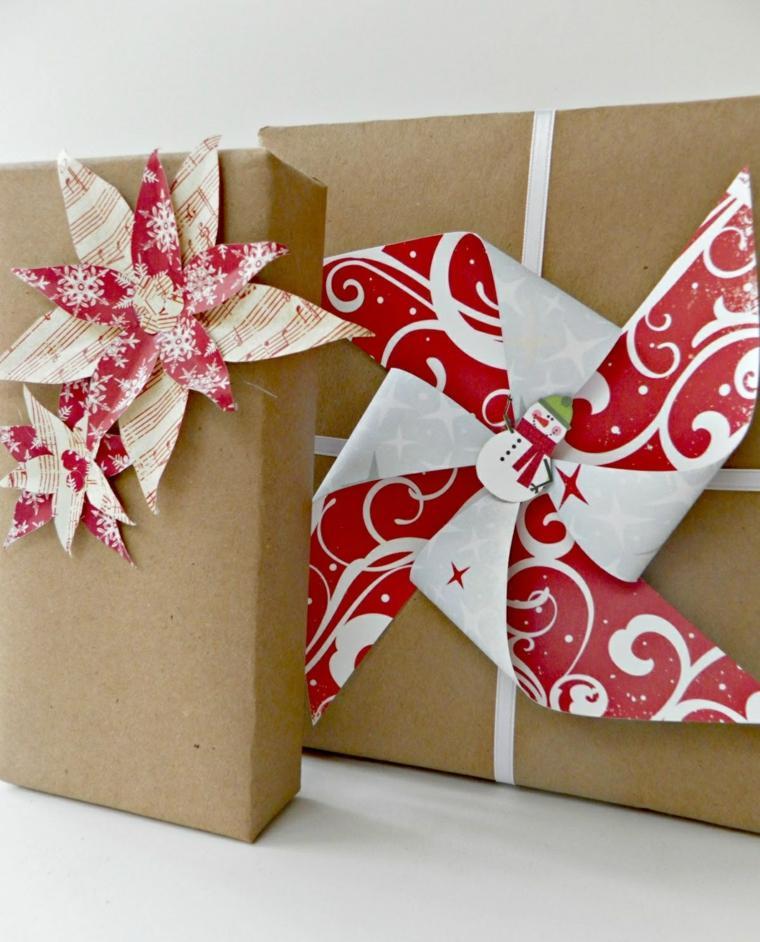 los regalos de navidad decorados
