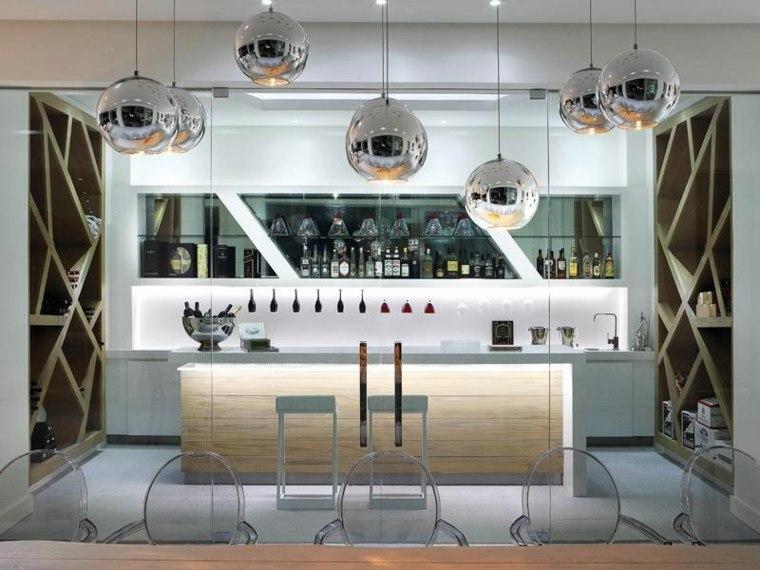 lujoso bar casa almacenamiento contenido