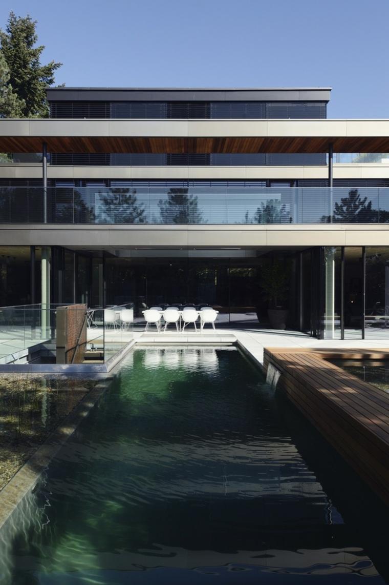 lineas elegantes especiales patio moderno