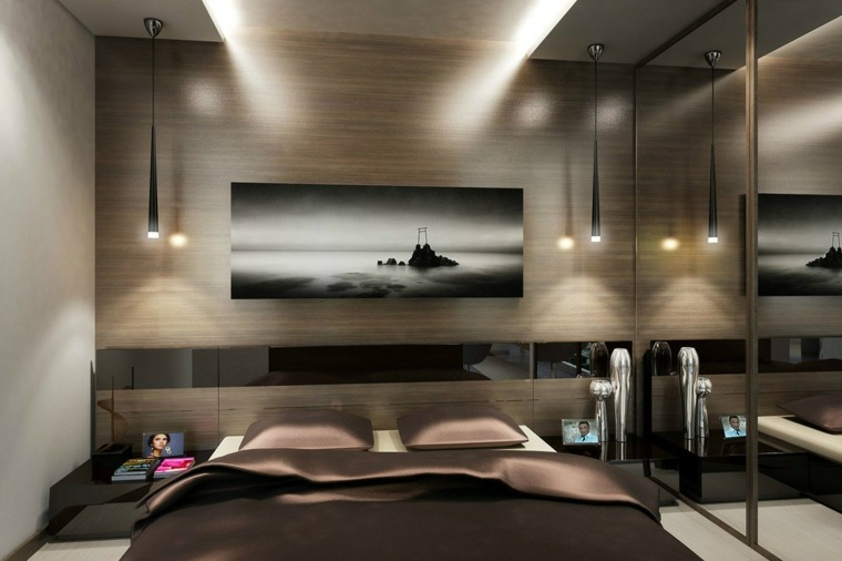 madera para paredes dormitorio