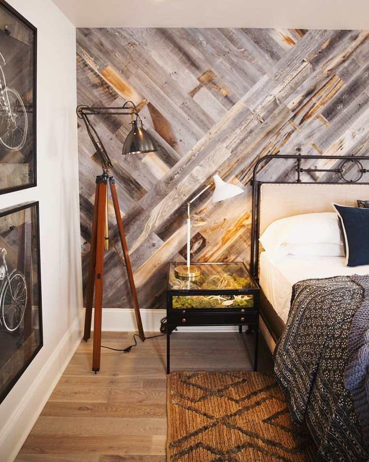 madera para paredes originales