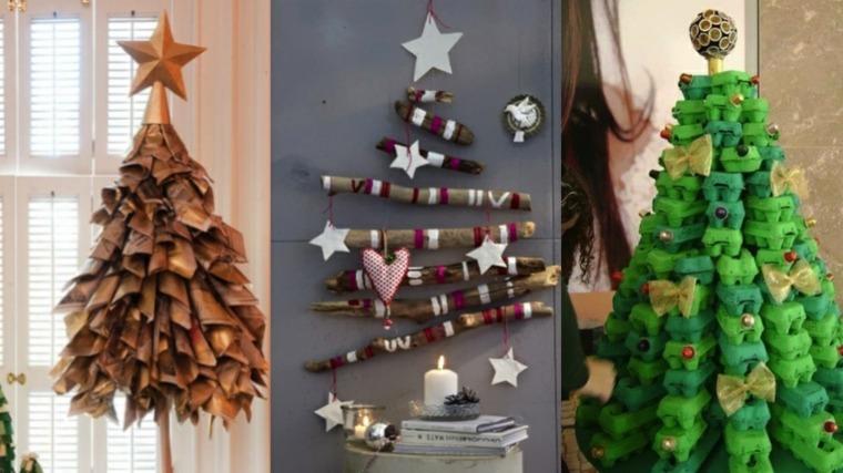 Manualidades Navidenas Para Decorar El Interior - Manualidades-navideas-con-pias
