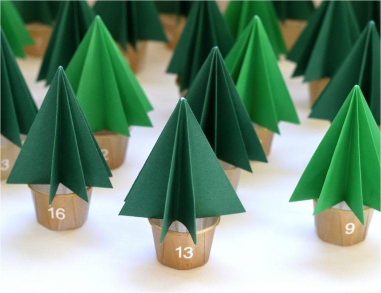 Manualidades navide as para decorar el interior - Arboles de navidad manualidades navidenas ...