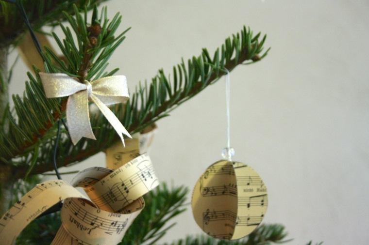 manualidades navideñas de papel interior
