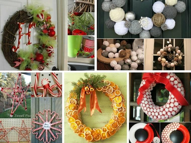 Manualidades navide as para decorar el interior - Manualidades navidenas faciles de hacer en casa ...