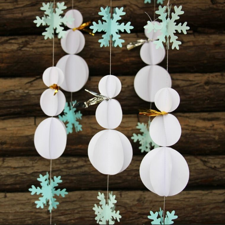 Manualidades para decorar el interior en Navidad -