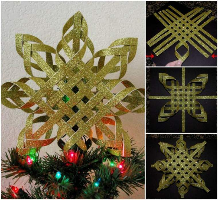 Manualidades para decorar el interior en navidad for Manualidades para hacer adornos de navidad