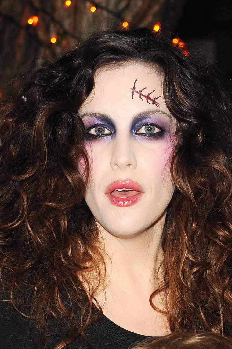 maquillaje halloween rapido heridas cara ideas