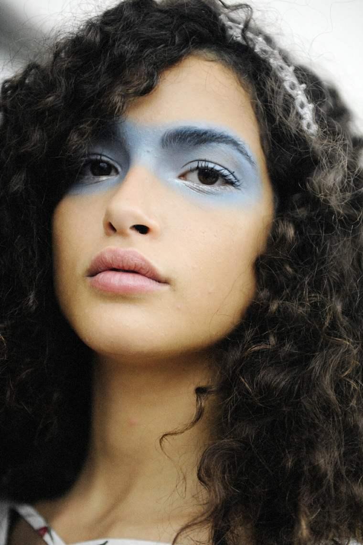 maquillaje de halloween azul rapido facil ideas