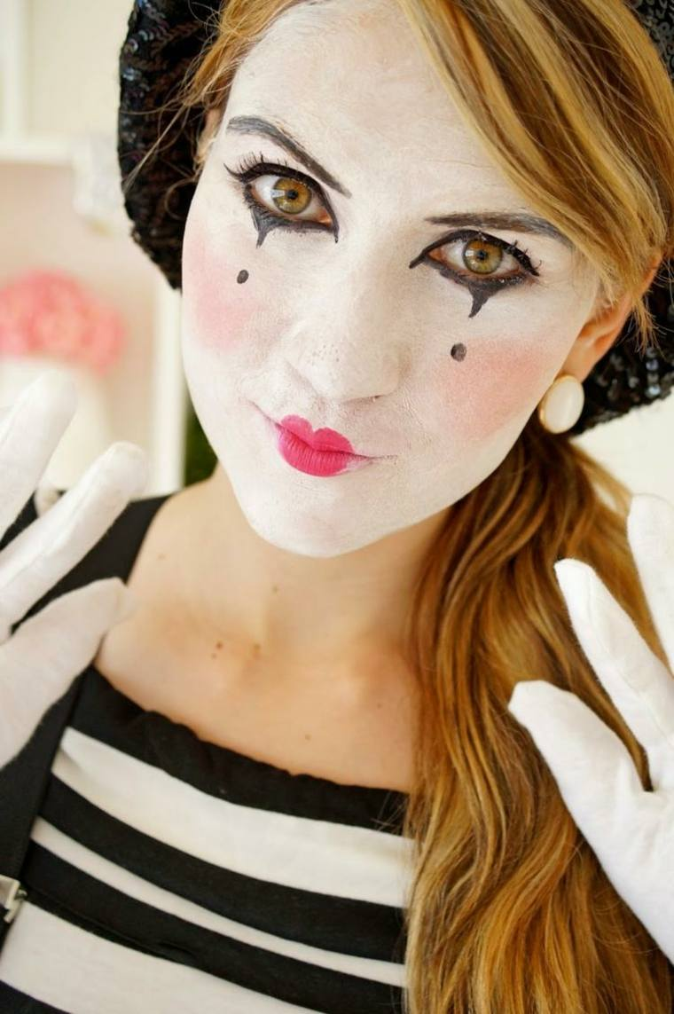 maquillaje para halloween facil rapido mimo ideas
