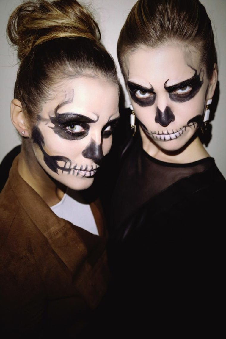 maquillaje para halloween interesantes original ideas