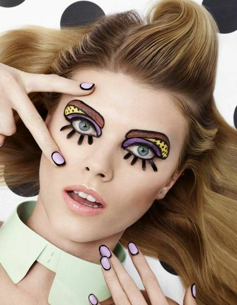 maquillaje para halloween simple facil mujer ideas