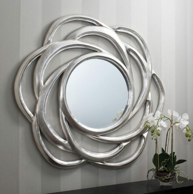 Espejos modernos para el interior de casa for Marcos para espejos