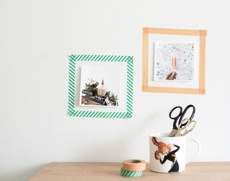 marcos la pared washi tape