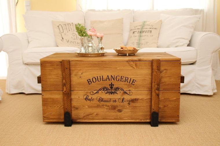 Como combinar muebles antiguos con accesorios modernos - Muebles de salon antiguos ...