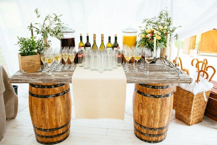 mesa entrada invitados ceremonia boda vintage ideas